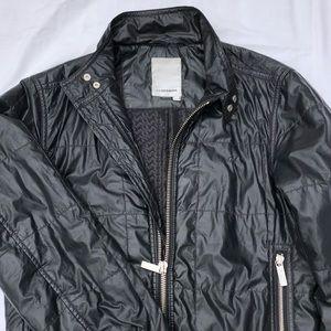 J. Lindeberg black bomber jacket S